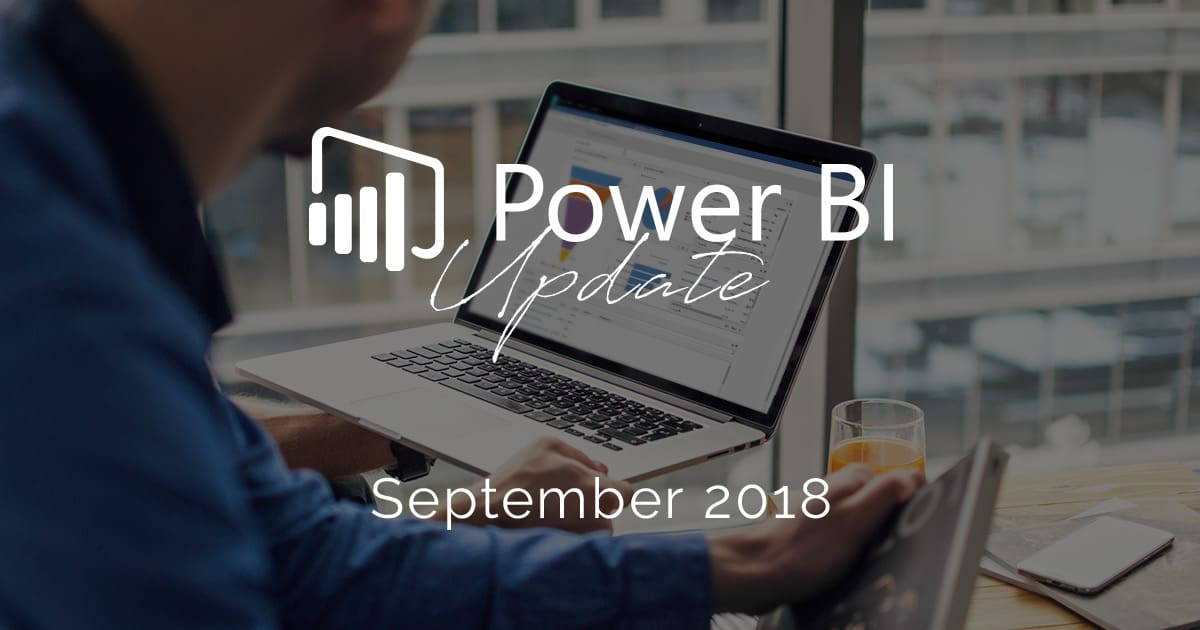 Microsoft Power BI - Unser Update im September